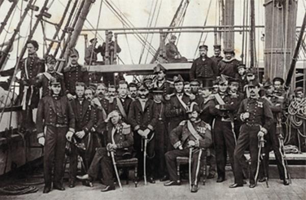 Alcune delle mummie furono raccolte nel 1865-68, durante un viaggio intorno al mondo a bordo della Pirocorvetta Magenta (Gino Fornaciari)