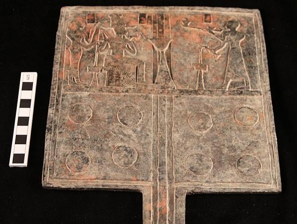 La tavoletta rituale (D. A. Welsby; Copyright SARS NDRS Archive)
