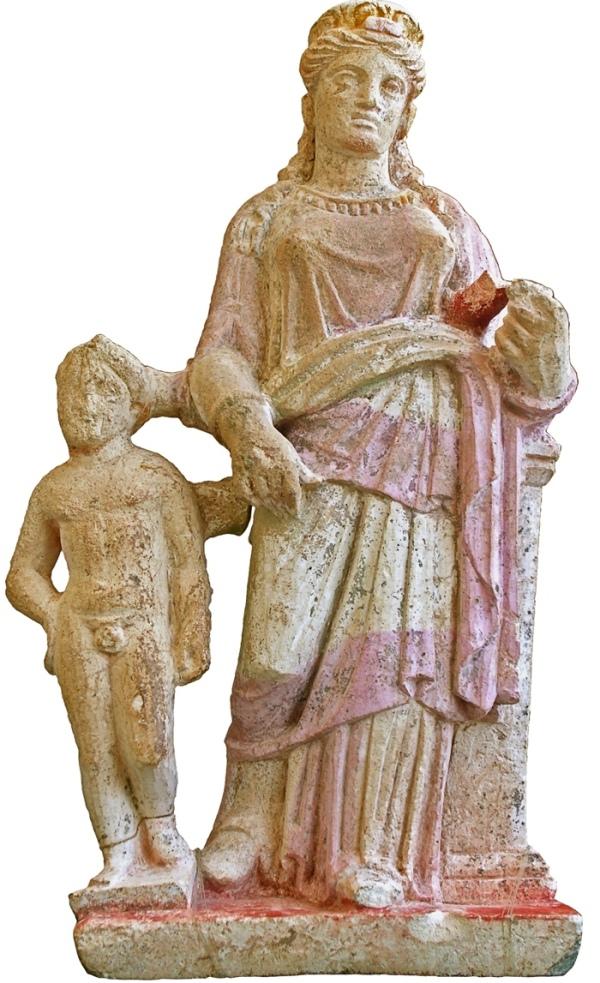 Statuetta di Afrodite e Eros (Kadir Kaba)