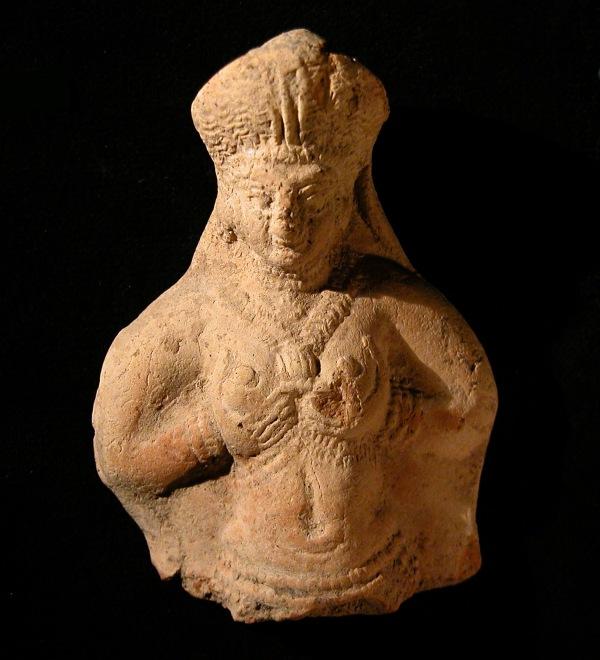 Una statuetta femminile rinvenuta a Haft Tappeh, XV secolo a.C. (Behzad Mofidi-Nasrabadi)