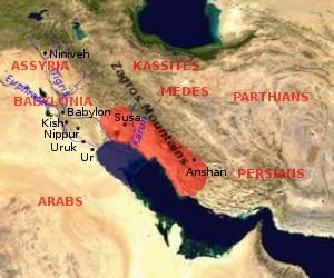 Il regno di Elam (wikimedia)