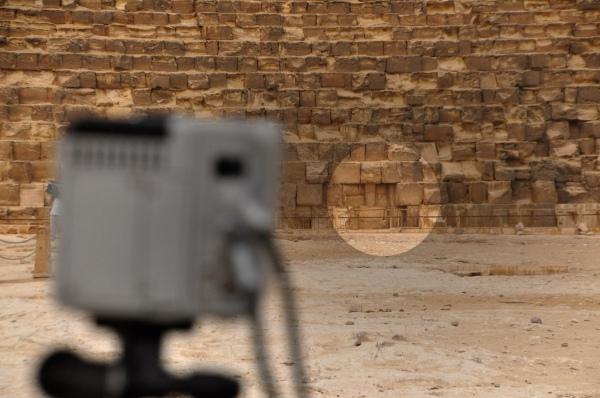 Il punto dell'anomalia sulla Piramide di Cheope (Scan Pyramids)