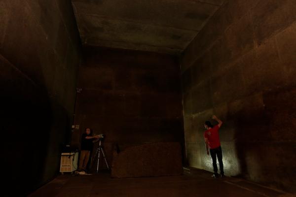 La Camera del Re. Secondo alcuni, Cheope fu sepolto qui; secondo altri, la sua tomba è ancora da scoprire (www.HIP.Institute, Philippe Bourseiller)