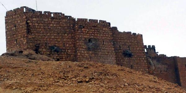 Danni al castello di Palmira (SANA)