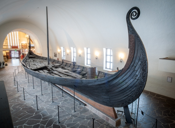 The Viking Ship Oseberg, Viking Ship Museum (Mark Harris/Getty Images)