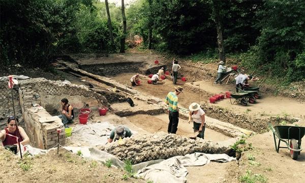 L'edificio scavato dagli archeologi (Kevin MacNichol)