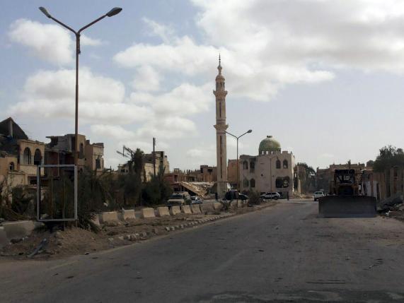 La città di Palmira dopo la riconquista (REUTERS/SANA/Handout via Reuters)
