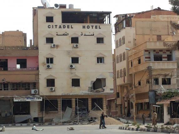 L'hotel Citadel (REUTERS/SANA/Handout via Reuters)