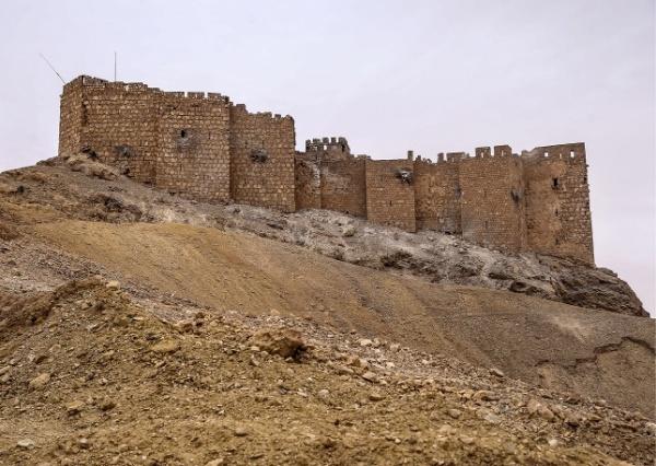 La cittadella medievale danneggiata (Valery Sharifulin, TASS)