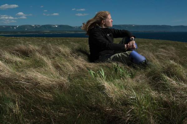 Sarah Parcak (Robert Clark, National Geographic)