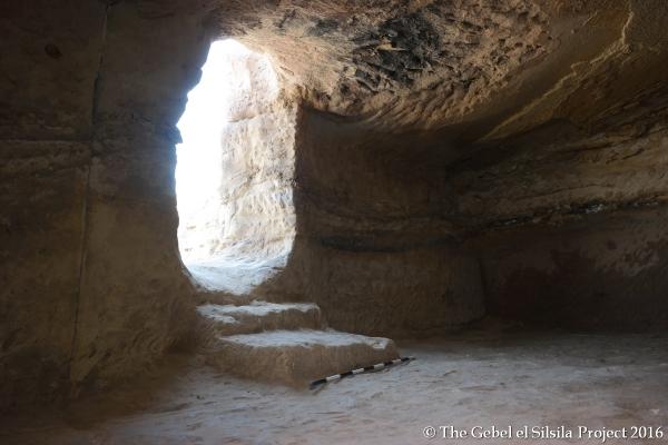 Ingresso della tomba 14 (The Gebel el Silsila Survey Project)