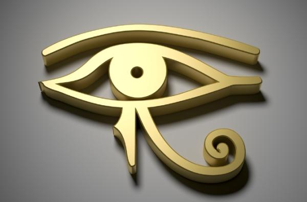 L'Occhio di Horus è il simbolo della prosperità, del potere regale e della buona salute (Thinkstock)