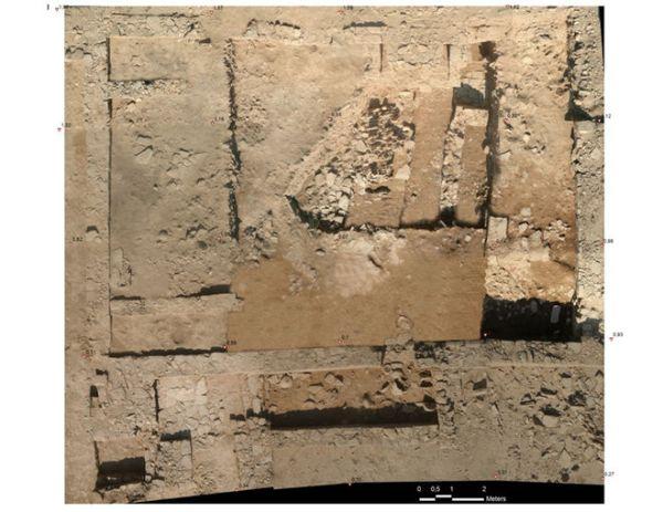 Il santuario visto dall'alto (Aurangzeib Khan, Courtesy ACT/Italian Archaeological Mission)