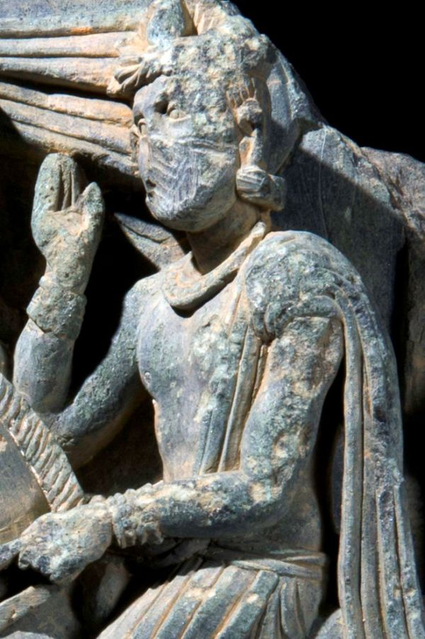 Siddhartha (Aurangzeib Khan, Courtesy ACT/Italian Archaeological Mission)
