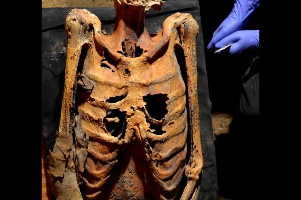 La mummia risale tra il 1300 e il 1070 a.C. (Anne Austin)