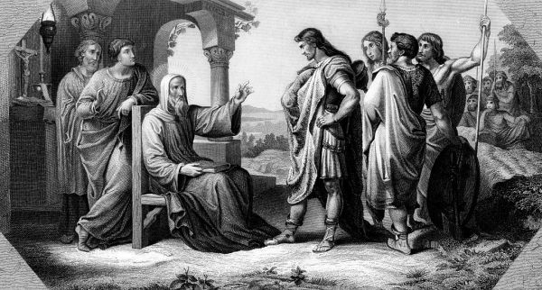 Odoacre incontra santo Severino (Ullstein bild/ullstein bild via Getty Images)