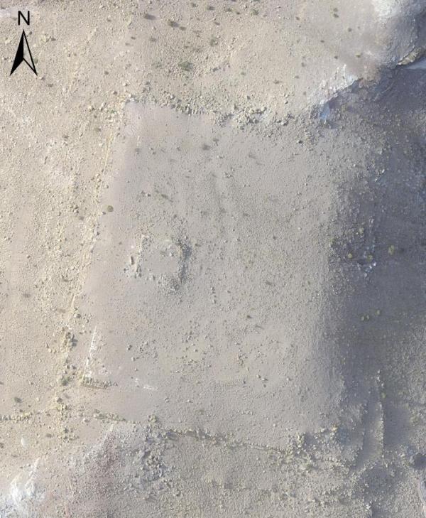L'edificio scoperto si trova a circa 800 metri dal centro di Petra (I. LaBianca, National Geographic)