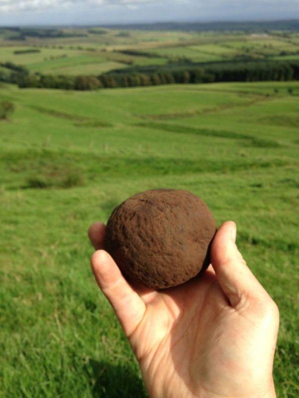 Una pietra per artiglieria (John Reid, Trimontium Trust)
