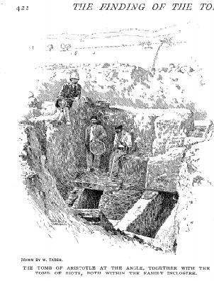 Waldstein entra nell'altra tomba di Aristotele