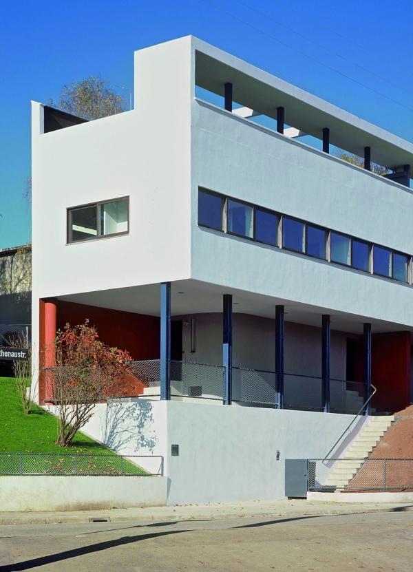 Twin houses, Weissenhof (FLC/ADAGP)