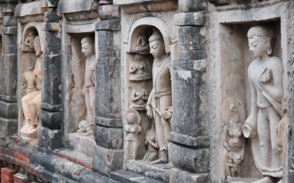 Excavated Remains of Nalanda Mahavihara: Stucco art of Site no. 03 (Rajneesh Raj)