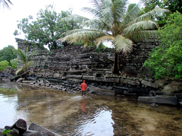 Nan Madol: Ceremonial Center of the Eastern Micronesia: Nandowas Islet (Osamu Kataoka)