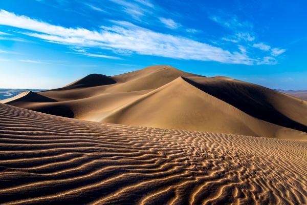 Lut Desert: Sand dunes in Rig-e Yallan (Naser Mizban)