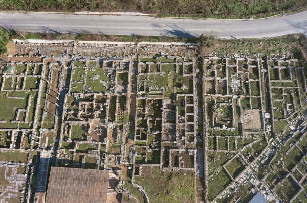 Archaeological Site of Philippi: Roas network (Hellenic Ministry of Culture and Sports)