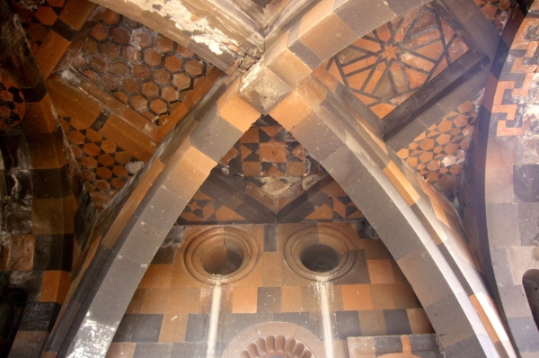 Archaeological Site of Ani: Surp Arak'elots Church, Cross-ribbed vault (Fahriye Bayram)