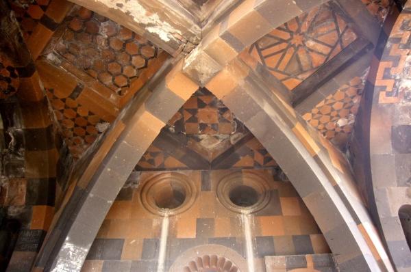 Archaeological Site of Ani: Surp Arak'elots Church, Cross-ribbed vault (Fahriye Bayram)