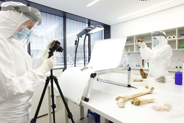 Il laboratorio dell'Università di Magonza (Thomas Hartmann)