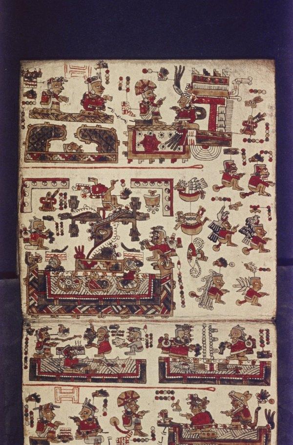 Codex Selden, noto anche come Codex Añute (Biblioteca Bodleiana)