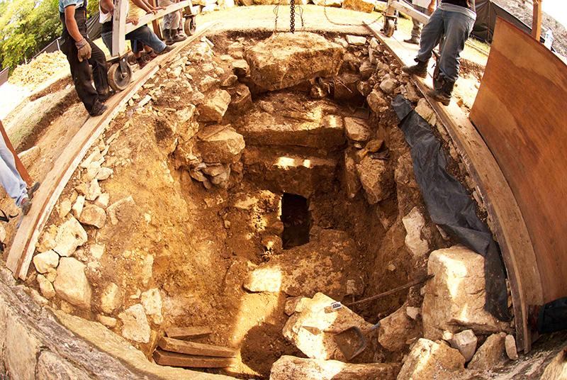 Lo scavo e il tunnel