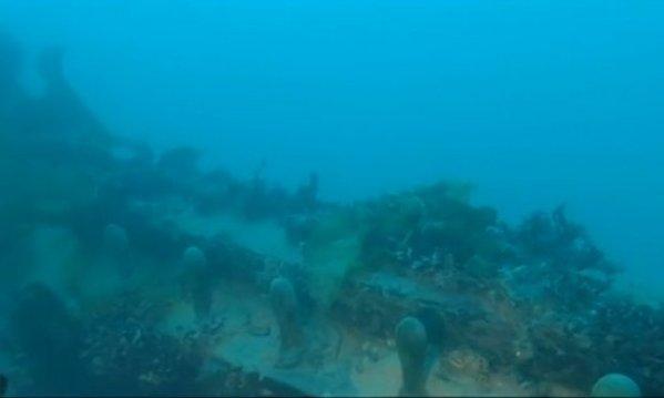 Il ponte della HMS Terror (Arctic Research Foundation)