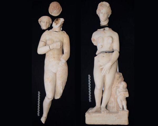 Le due statue di Afrodite (Tom Parker)