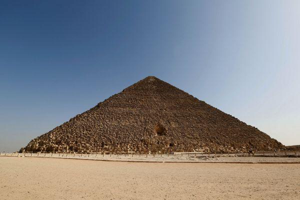 Il lato nord della Grande Piramide (ScanPyramids mission)