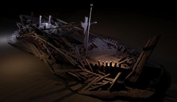 Modello fotogrammetrico di una nave ottomana (Rodrigo Pacheco Ruiz)