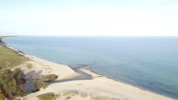 L'attuale costa (Lund University)
