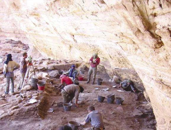 (Missione Archeologica nel Sahara. Sapienza Università di Roma)
