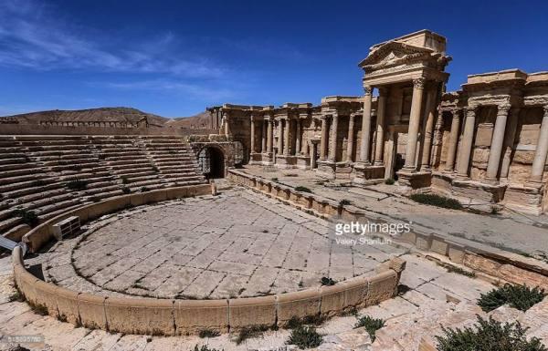 Così si presentava il teatro romano (Valery Sharifulin/Getty)