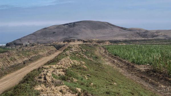 Huaca Prieta perù