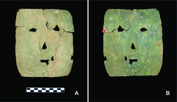 maschera più antica sud america rame