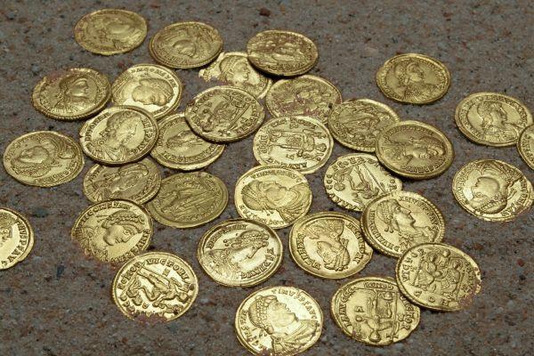 tardo impero romano monete Lienden