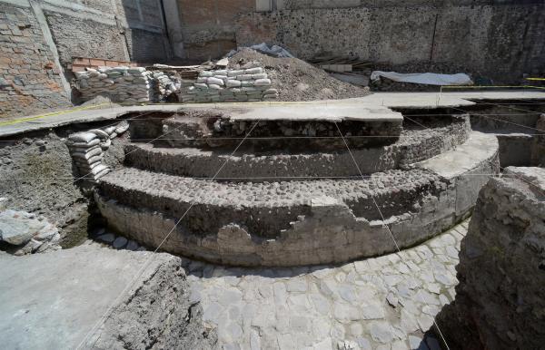 tenochtitlan Ehecatl tempio
