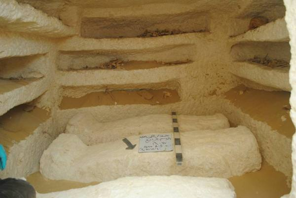 catacombe tombe egitto tolemaico XVII dinastia