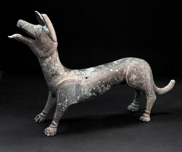 statua cane romano lydney park