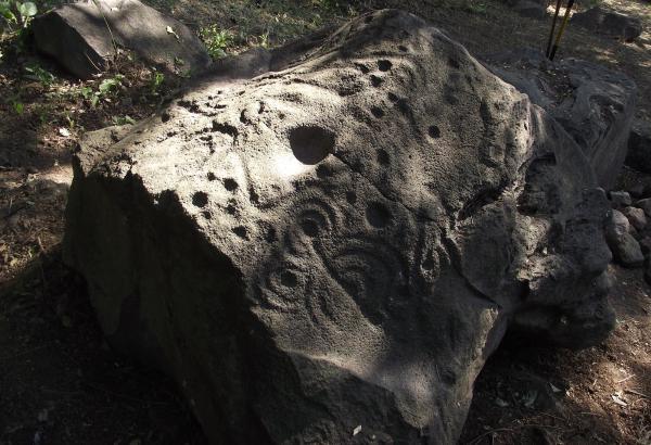 petroglifi messico la campana mesoamerica